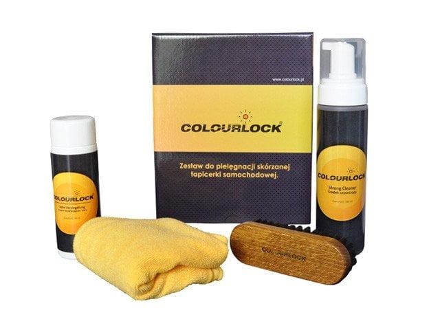 zestaw do czyszczenia tapicerki samochodowej Colourlock