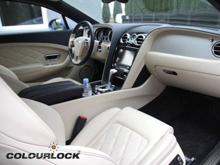 Bentley Continental GT Blue Thunder – renowacja wnętrza