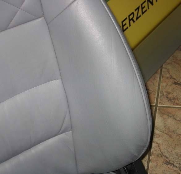 skóra na boczku samochodowym po farbowaniu