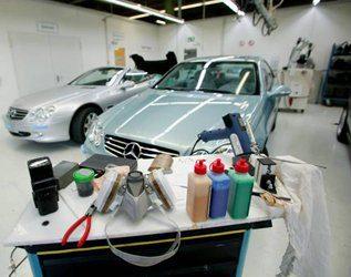 systemy do napraw skóry w warsztacie samochodowym