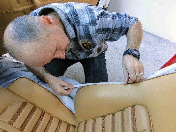Zabezpieczenia kedry przed farbowaniem foteli