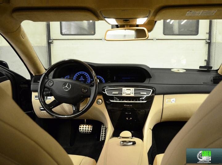 Czyszczenie skóry Mercedes CL 500