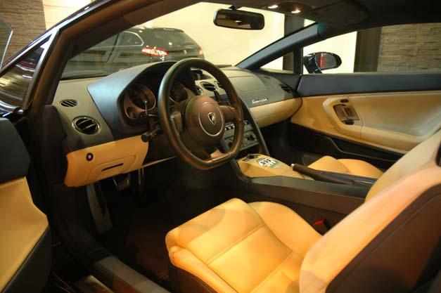 Lamborghini - kolejne ujęcie
