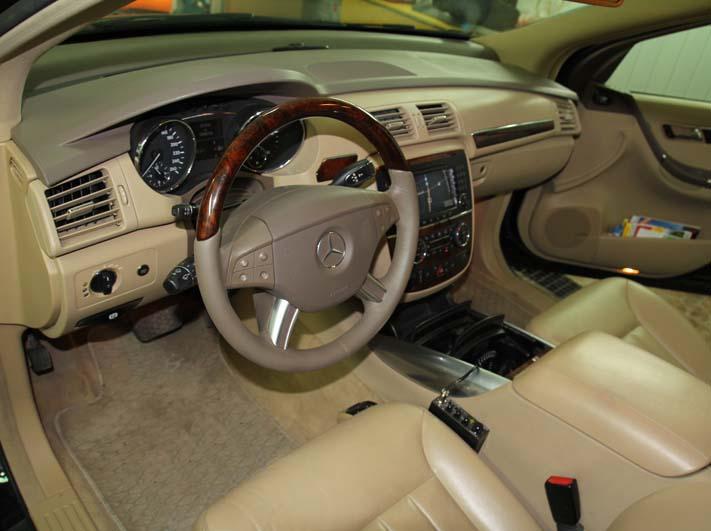 Renowacja kierownicy w Mercedesie R-klasy