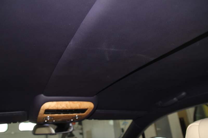Podsufitka w Bentley'u