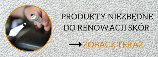 produkty niezbędne do renowacji skór