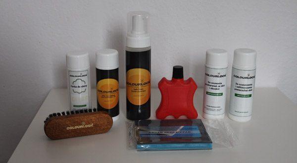 Zestaw do czyszczenia i renowacji skóry w programie TVN Turbo