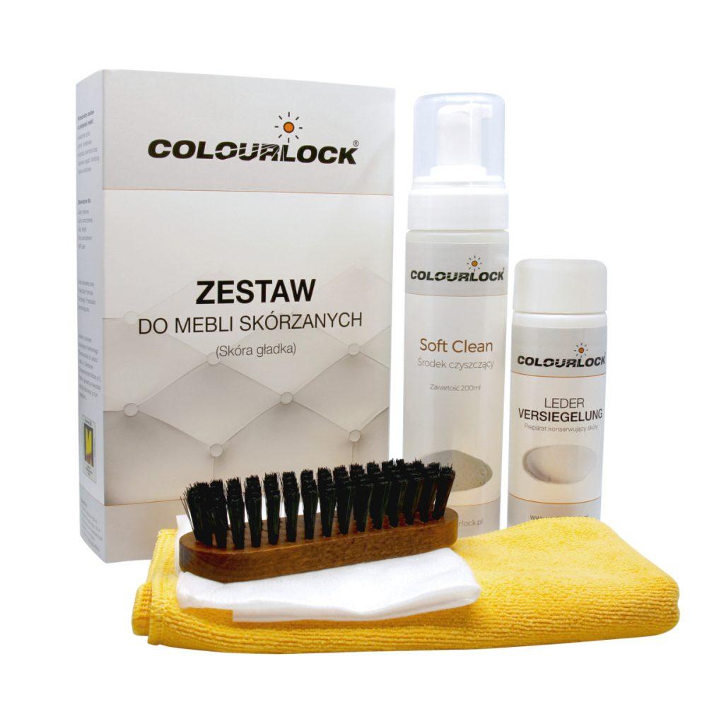 Zestaw Colourlock do mebli skórzanych - skóra gładka