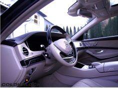 Mercedes-Benz Klasa S W222 – renowacja siedziska