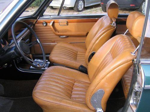 Czyszczenie tapicerki skórzanej - BMW Oldtimer