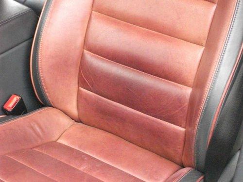 Czyszczenie tapicerki skórzanej - VW Touareg