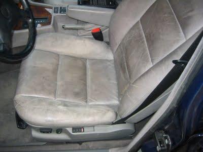 Czyszczenie tapicerki skórzanej - BMW Bufallo